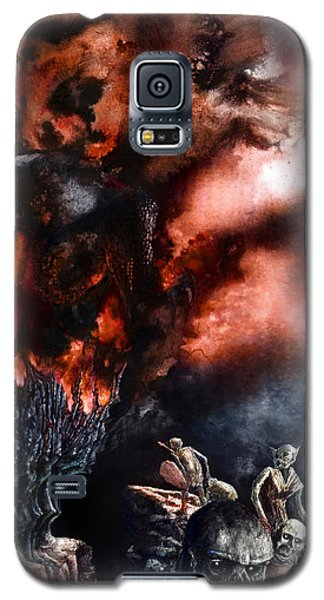 The Fall Of Azturath Galaxy S5 Case by Curtiss Shaffer