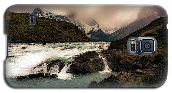 Galaxy S5 Case featuring the photograph The Falls by Andrew Matwijec