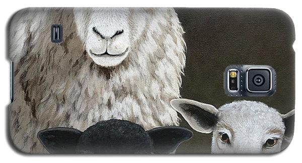 The Family - Sheep Oil Painting Galaxy S5 Case