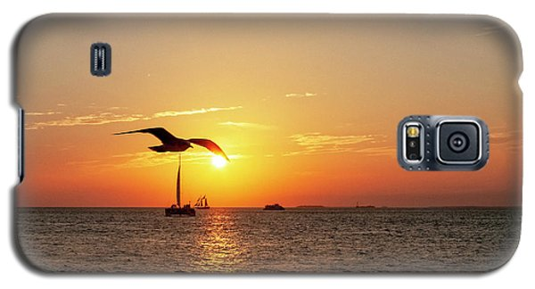 The Famous Key West Sunset  Galaxy S5 Case