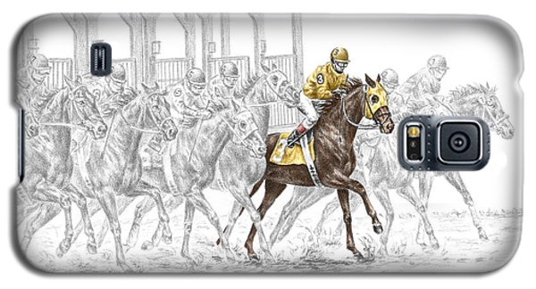 The Favorite - Thoroughbred Race Print Color Tinted Galaxy S5 Case