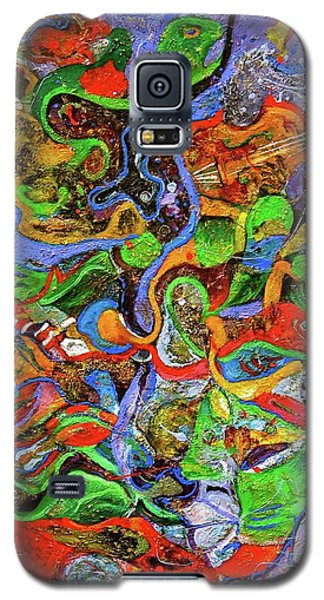 The Fiddle Player Galaxy S5 Case