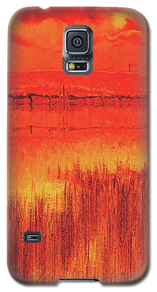 Galaxy S5 Case featuring the digital art The Final Paragraph by Wendy J St Christopher