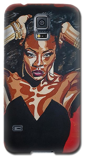 The Fire Galaxy S5 Case