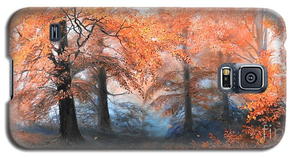 The Fire Galaxy S5 Case by Sorin Apostolescu