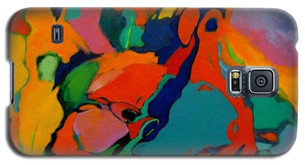 Galaxy S5 Case featuring the painting The Firebird by Bernard Goodman