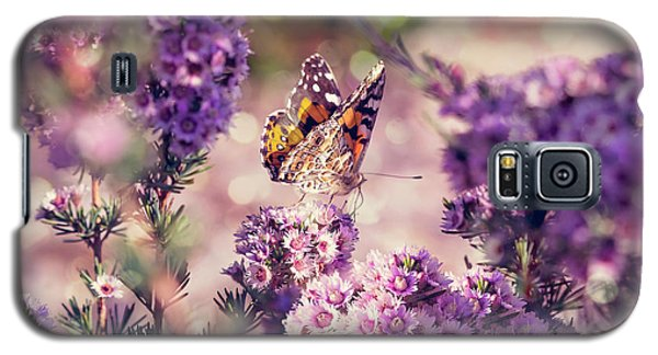 Galaxy S5 Case featuring the photograph The First Day Of Summer by Linda Lees