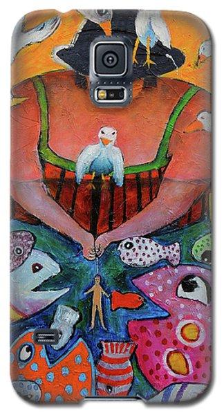 The Fisherman's Almanac Galaxy S5 Case
