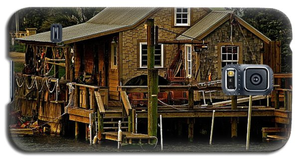 The Fishing Shack Galaxy S5 Case by John Harding