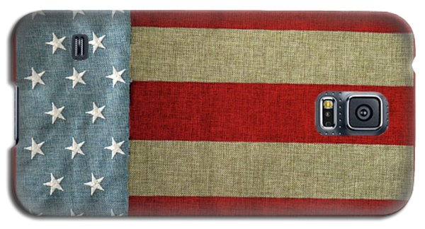 Galaxy S5 Case featuring the photograph The Flag by Tom Prendergast