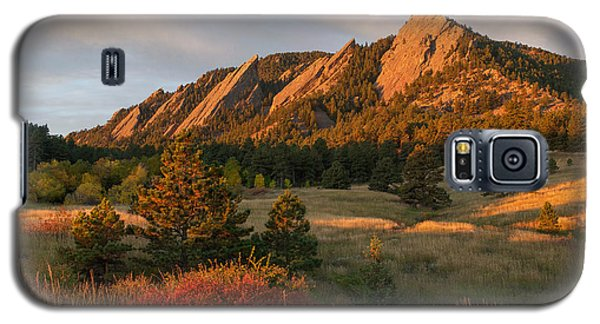 The Flatirons - Autumn Galaxy S5 Case