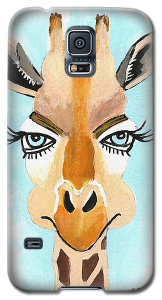 Galaxy S5 Case featuring the painting The Flirt by Kathleen Sartoris
