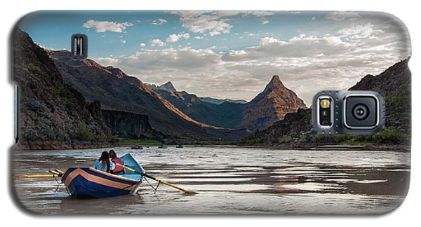 Galaxy S5 Case featuring the photograph The Float Out by Britt Runyon