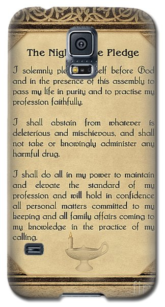 The Florence Nightingale Pledge 1893 Galaxy S5 Case