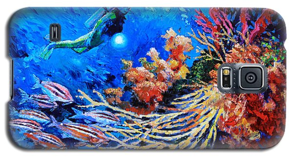 The Flow Of Creation Galaxy S5 Case by John Lautermilch