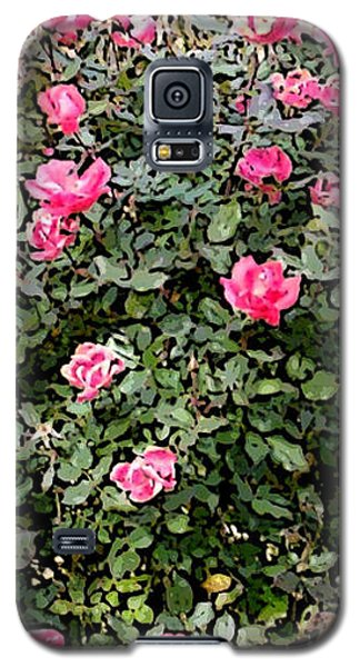 Galaxy S5 Case featuring the photograph Rose Bush by Skyler Tipton