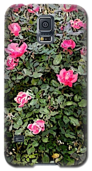 Rose Bush Galaxy S5 Case by Skyler Tipton