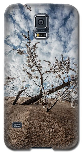 Galaxy S5 Case featuring the photograph The Flowering Dunes by John McGraw