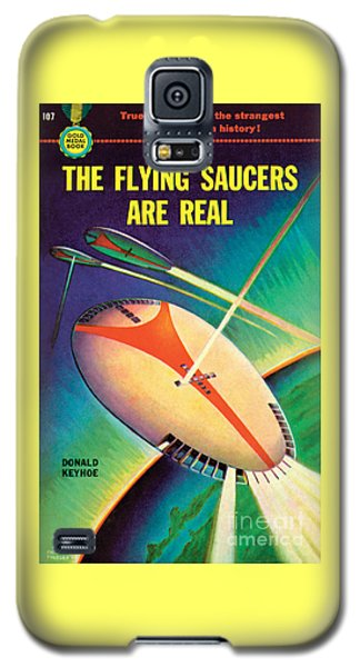 The Flying Saucers Are Real Galaxy S5 Case by Frank Tinsley