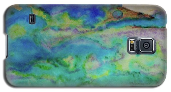 Galaxy S5 Case featuring the painting The Fog Rolls In by Kim Nelson