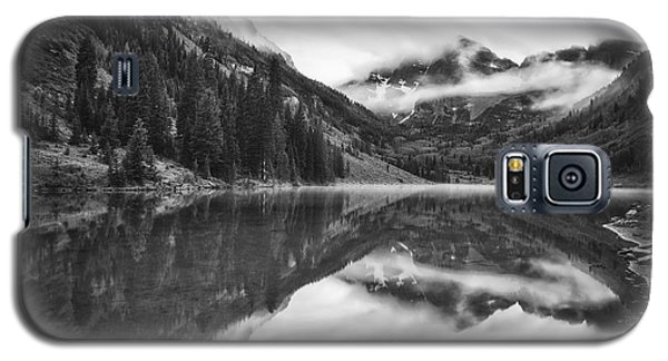 Galaxy S5 Case featuring the photograph The Foggy Bells by Photography  By Sai