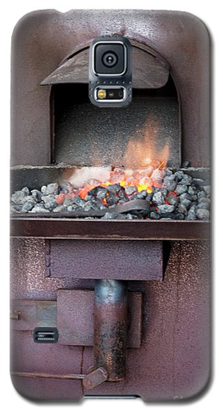 Galaxy S5 Case featuring the photograph The Forge by Linda Lees