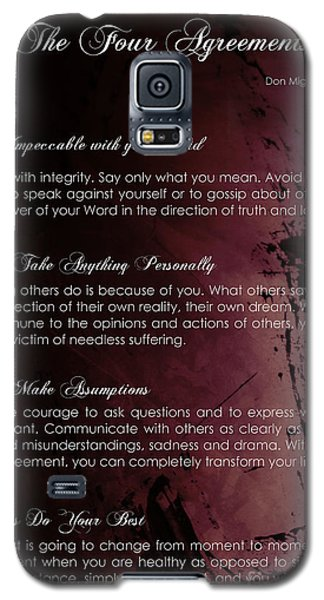 The Four Agreements 3 Galaxy S5 Case