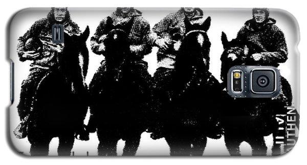 The Four Horsemen Of Notre Dame Galaxy S5 Case