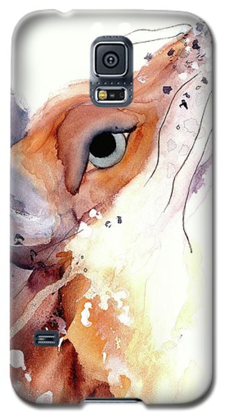 Galaxy S5 Case featuring the painting The Fox by Dawn Derman
