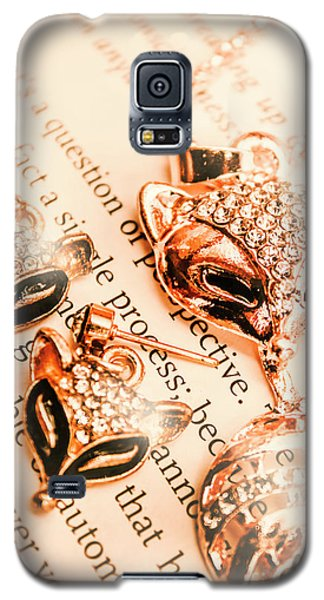 The Fox Tale Galaxy S5 Case by Jorgo Photography - Wall Art Gallery
