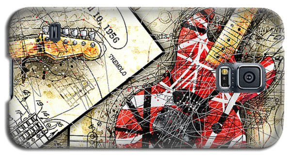 Van Halen Galaxy S5 Case - The Frankenstrat by Gary Bodnar