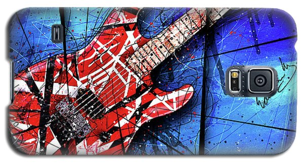 Van Halen Galaxy S5 Case - The Frankenstrat Vii Cropped by Gary Bodnar