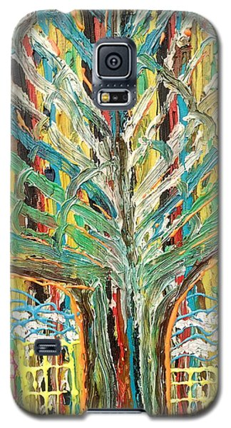 The Freetown Cotton Tree - Abstract Impression Galaxy S5 Case