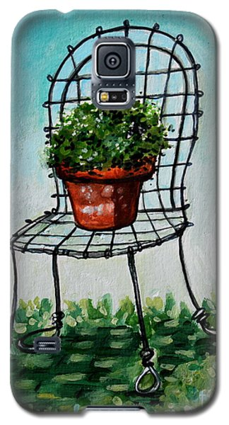 The French Garden Cafe Chair Galaxy S5 Case