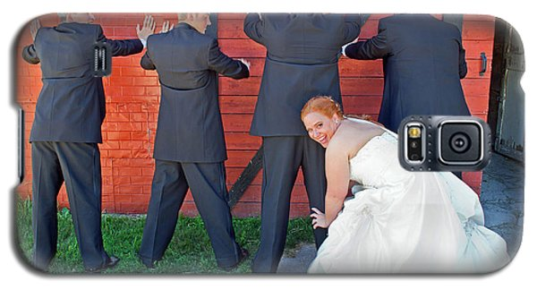 Galaxy S5 Case featuring the photograph The Frisky Bride by Keith Armstrong