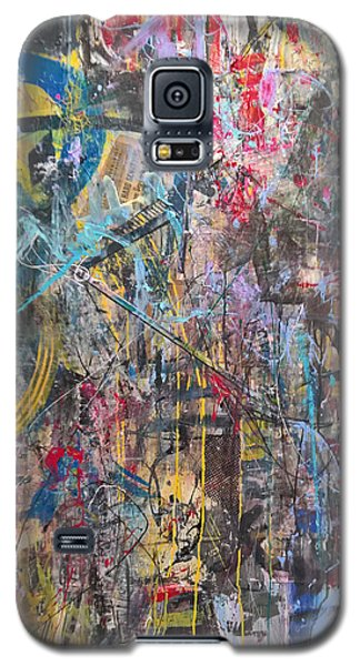 The Gamble Or Deconstructed Fish Galaxy S5 Case