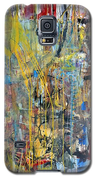 The Gamble Or Deconstructed Fish Galaxy S5 Case by Robert Anderson