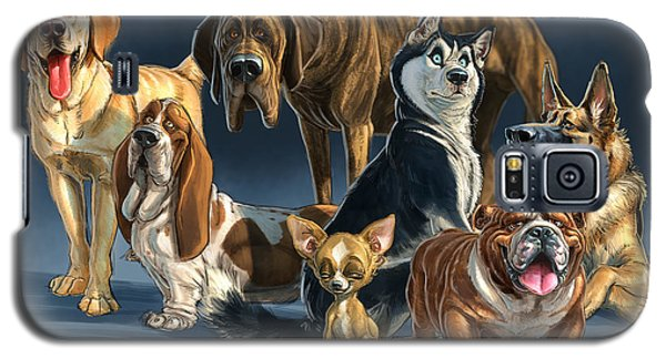 Galaxy S5 Case featuring the digital art The Gang 2 by Aaron Blaise