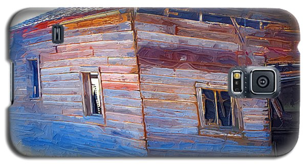 Galaxy S5 Case featuring the photograph The Garage by Susan Kinney