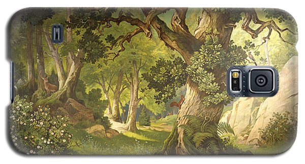 The Garden Of The Magician Klingsor, From The Parzival Cycle, Great Music Room Galaxy S5 Case