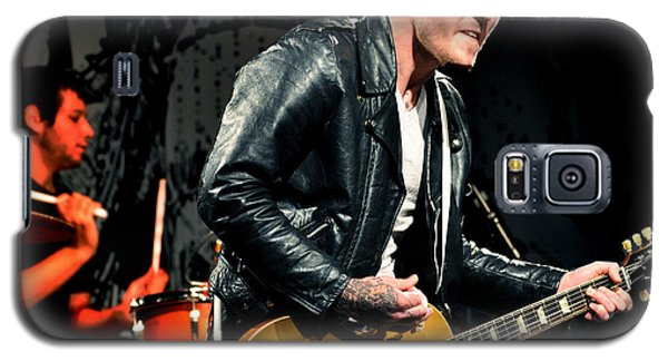 Galaxy S5 Case featuring the photograph The Gaslight Anthem by Jeff Ross