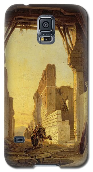 The Gates Of El Geber In Morocco Galaxy S5 Case by Francois Antoine Bossuet