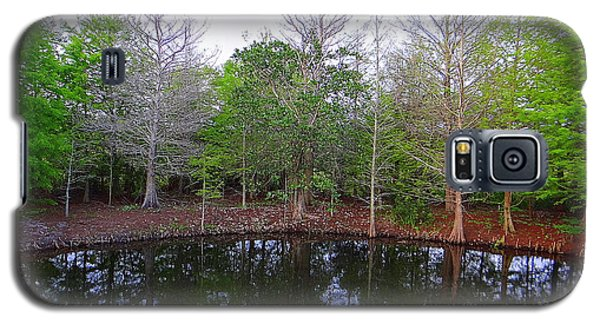 The Gator Hole At Green Cay In Florida Galaxy S5 Case