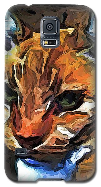 The Gaze Of The Gold Cat Galaxy S5 Case