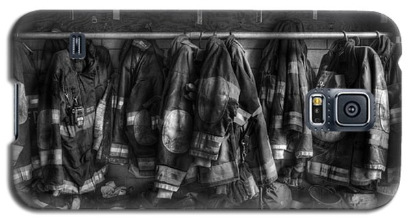 The Gear Of Heroes - Firemen - Fire Station Galaxy S5 Case
