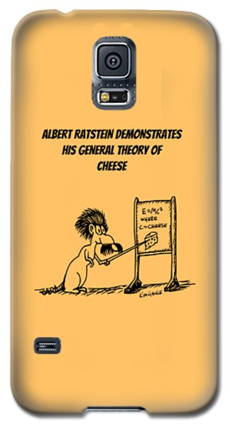 The General Theory Of Cheese Galaxy S5 Case by Kim Gauge