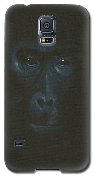 Galaxy S5 Case featuring the painting The Gentle Giant by Annemeet Hasidi- van der Leij