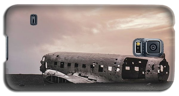 The Ghost - Plane Wreck In Iceland Galaxy S5 Case