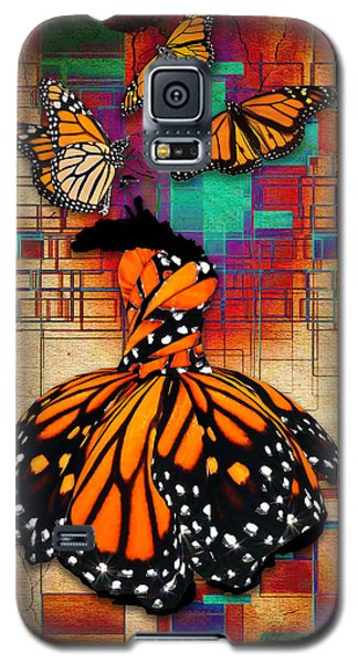 Galaxy S5 Case featuring the mixed media The Gift Of Life by Marvin Blaine