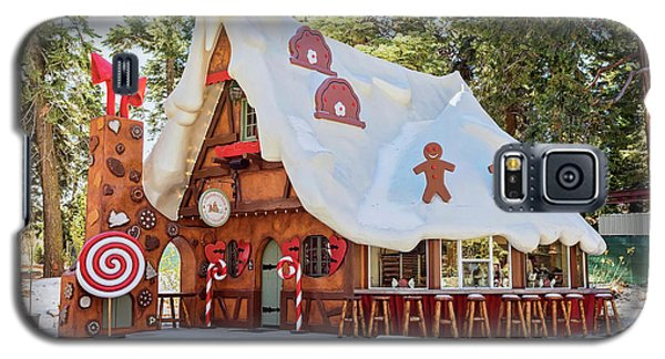 Galaxy S5 Case featuring the photograph The Gingerbread House by Eddie Yerkish